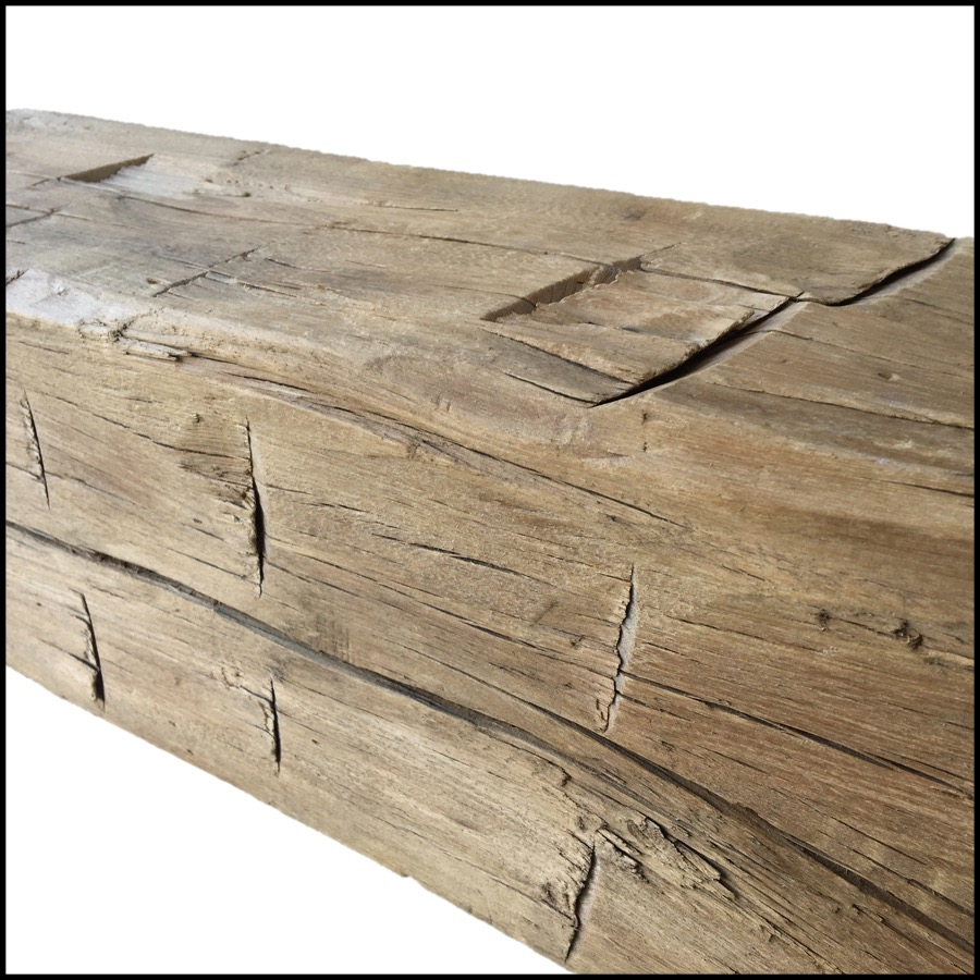 hewn hardwood mantels - Reclaimed Hardwood Barn Timbers