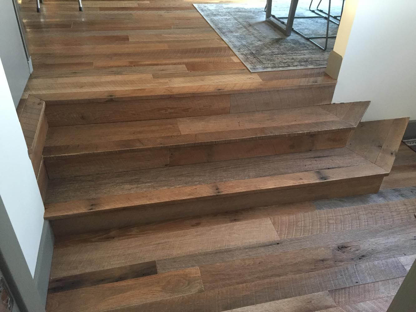 Reclaimed Rustic Barn Oak Flooring Random Width