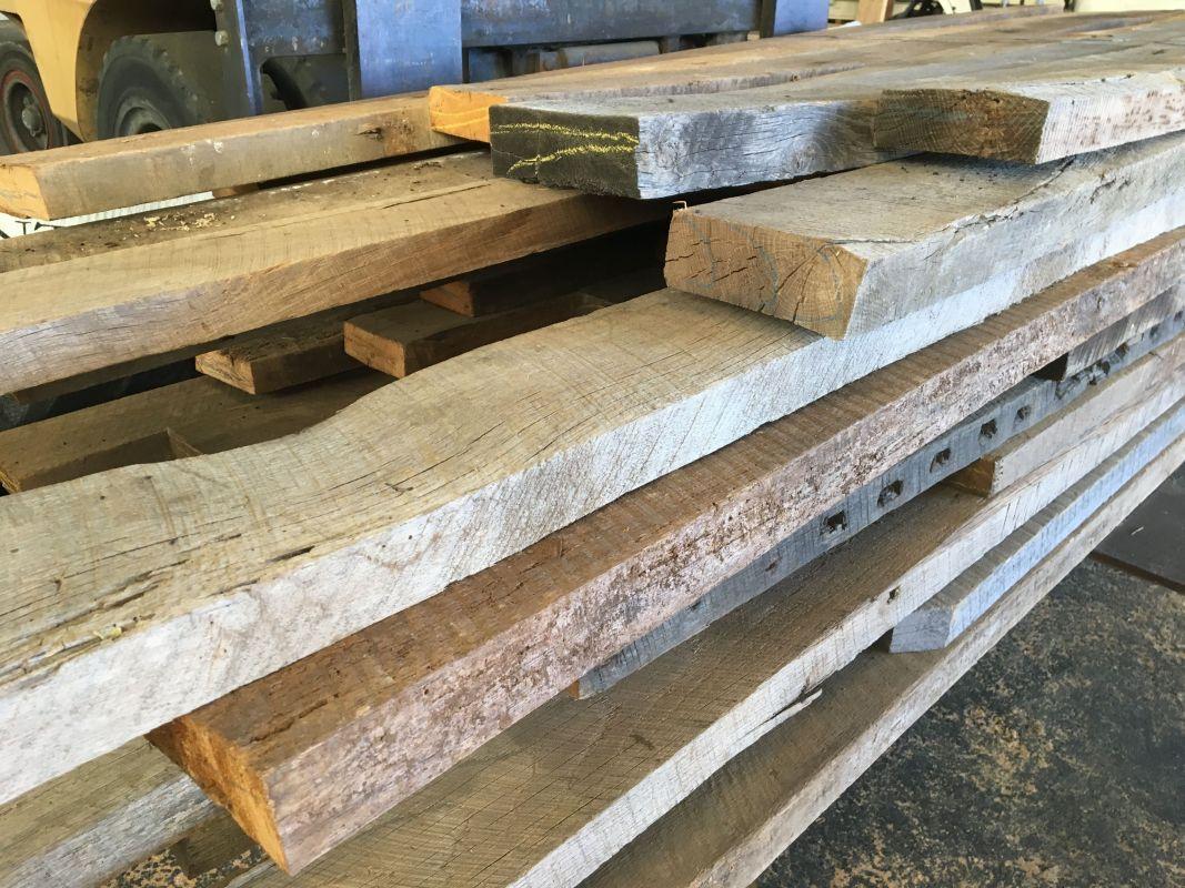 Reclaimed Wood Inventory - Vintage Timberworks