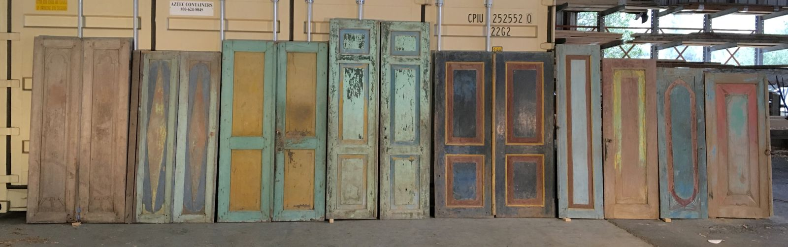Reclaimed Indonesian Doors & Teak Architectural Salvage - Vintage Timberworks