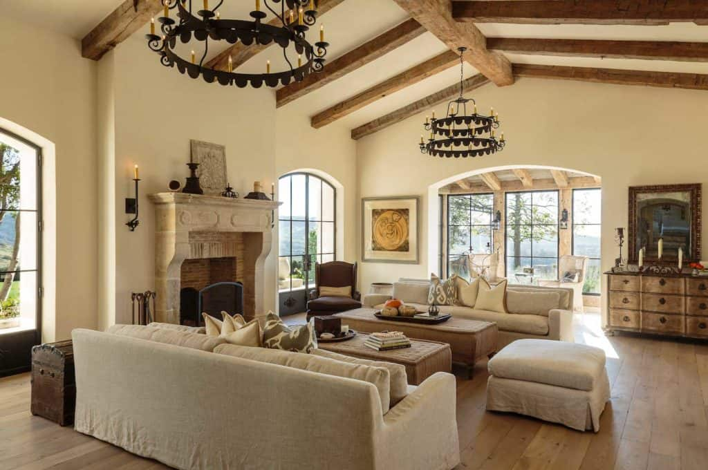 shady canyon french living room