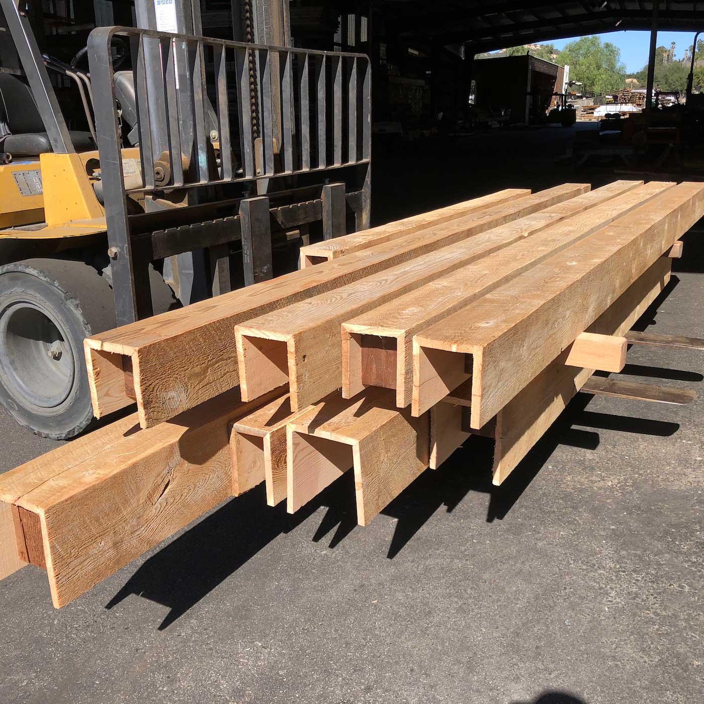 Driftwood Box Beams - Box Beam Fabrication