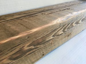 GROUND DOUGLAS FIR MANTEL