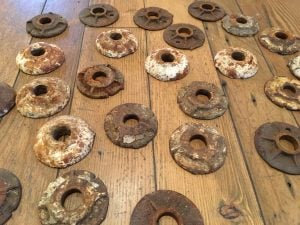 Antique Malleable Washers