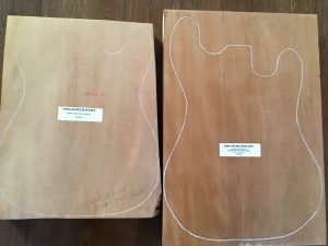 Ancient Kauri Solid Guitar Blanks