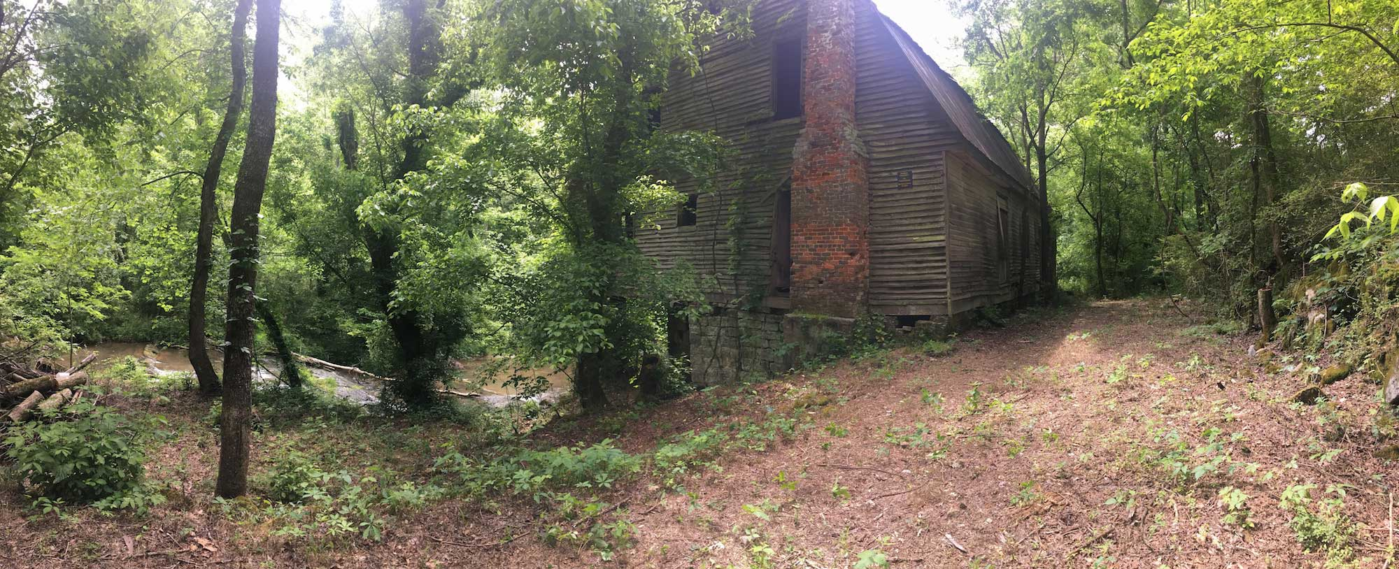 rice's mill before deconstruction