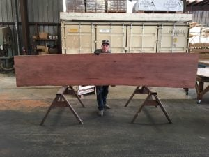 Live Edge Australian Iron Barn Slab