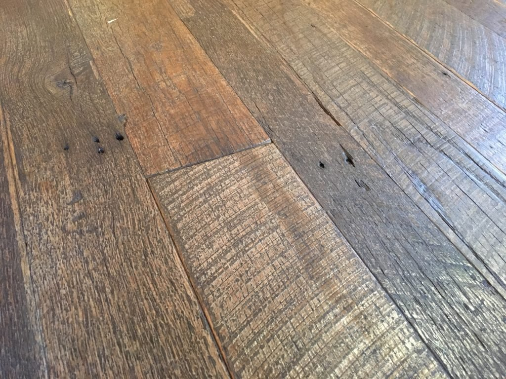 Reclaimed solid wood flooring flooring ideas and inspiration for Salvaged wood flooring