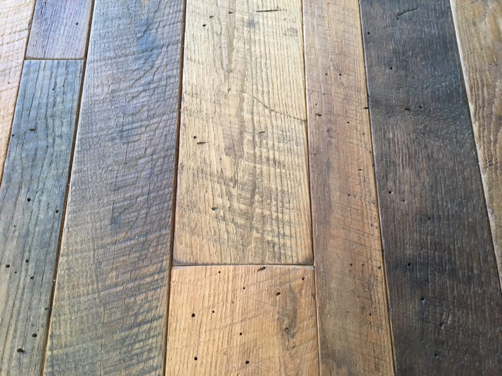 Reclaimed solid wood flooring flooring ideas and inspiration for Recycled wood floors