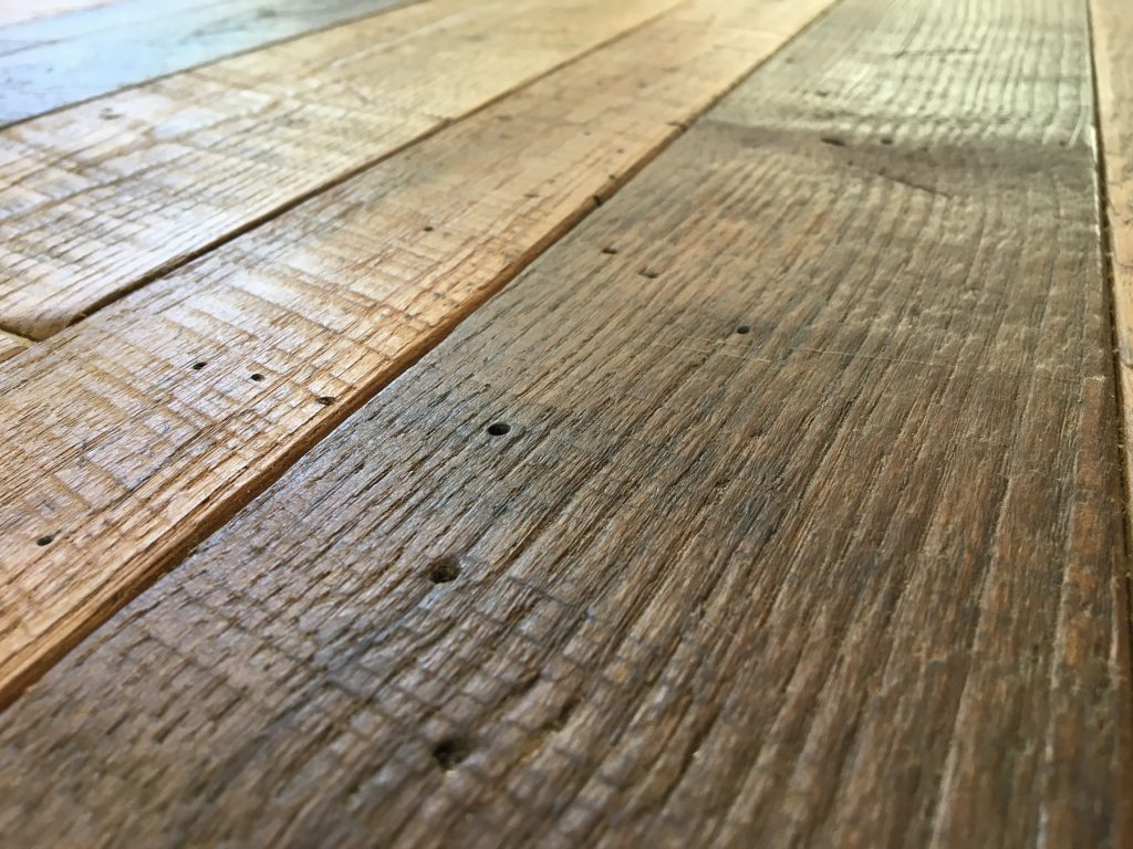 Reclaimed wood paneling houston reclaimed wood paneling for Reclaimed hardwood flooring