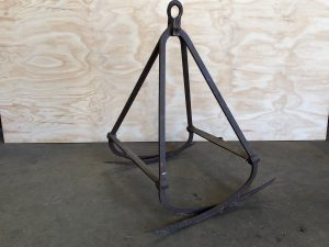 antique hay grapple hooks farm barn rustic