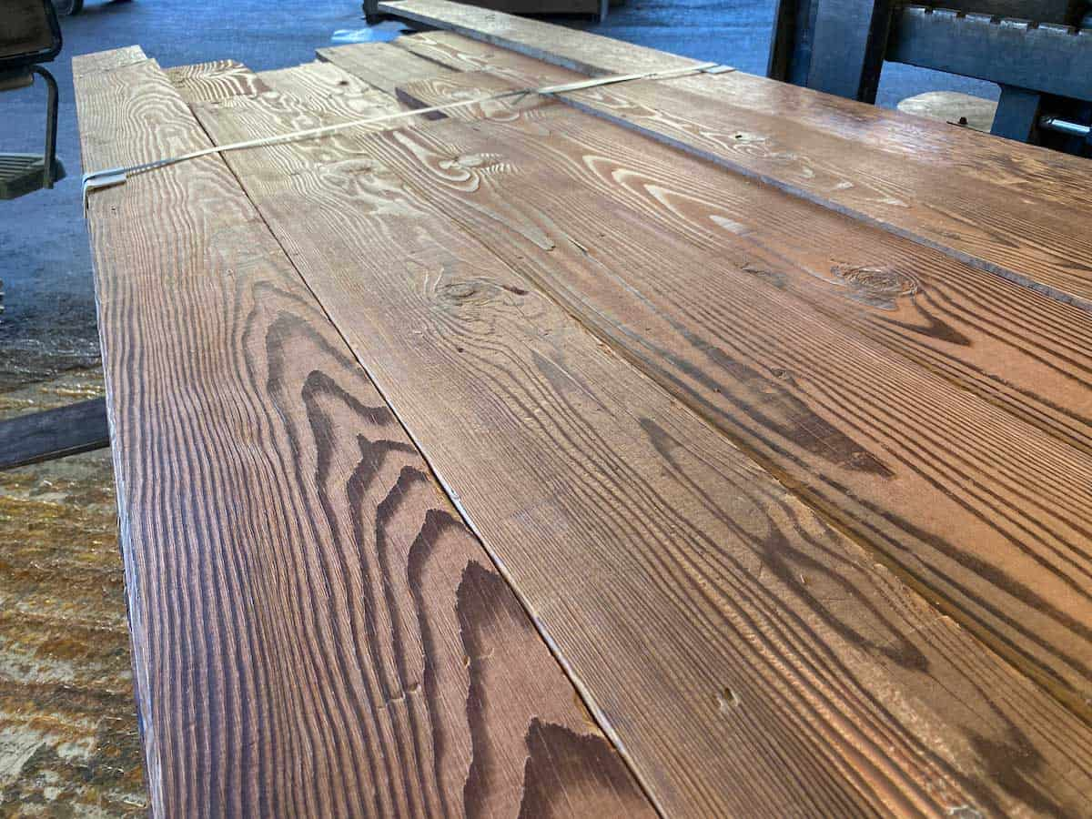 Original Surfaced Douglas fir planking - Reclaimed Planking Douglas Fir