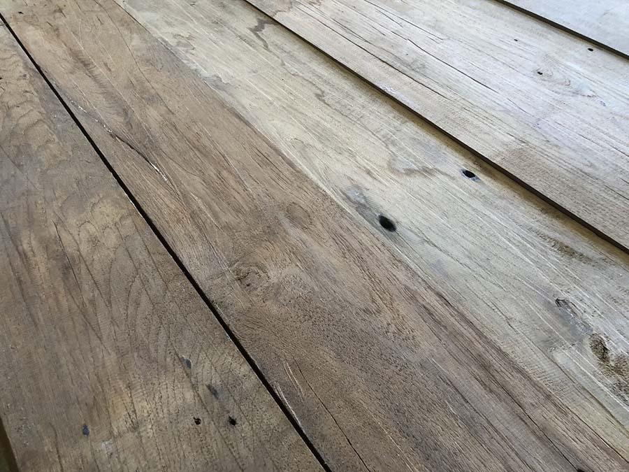 Reclaimed teak planking preview - Reclaimed Teak Siding