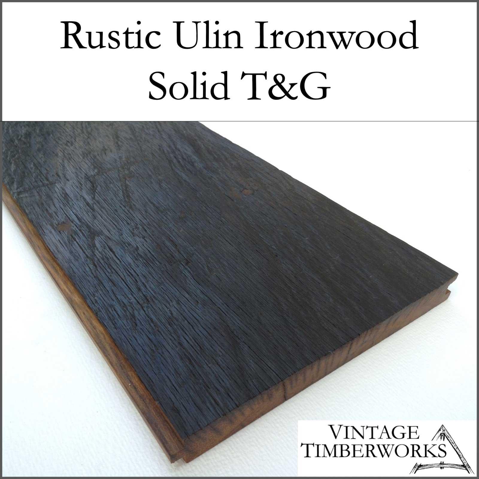 Rustic Ulin Ironwood Solid Flooring - Ulin Ironwood