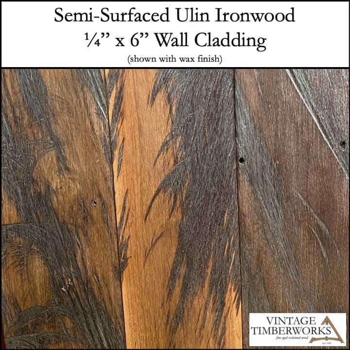 SS Ulin Wall Cladding - Ulin Ironwood