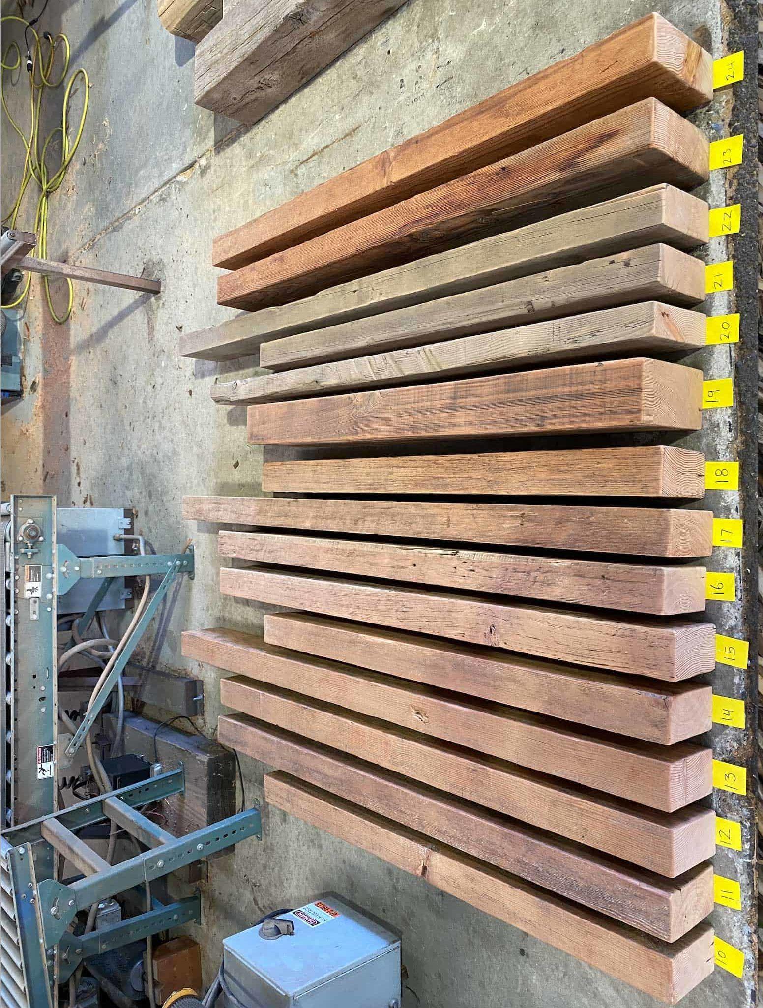 Sanded Douglas Fir Mantels e1588191349666 - Vintage Timberware
