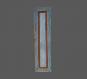 Antique Indonesian Door