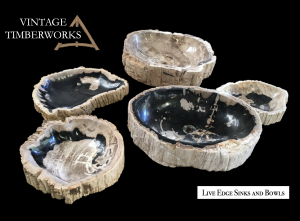 Live Edge Sinks and Bowls