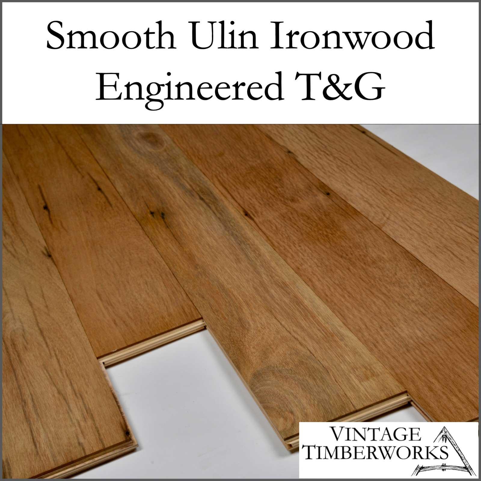 Smooth Ulin Ironwood Engineered Flooring - Ulin Ironwood