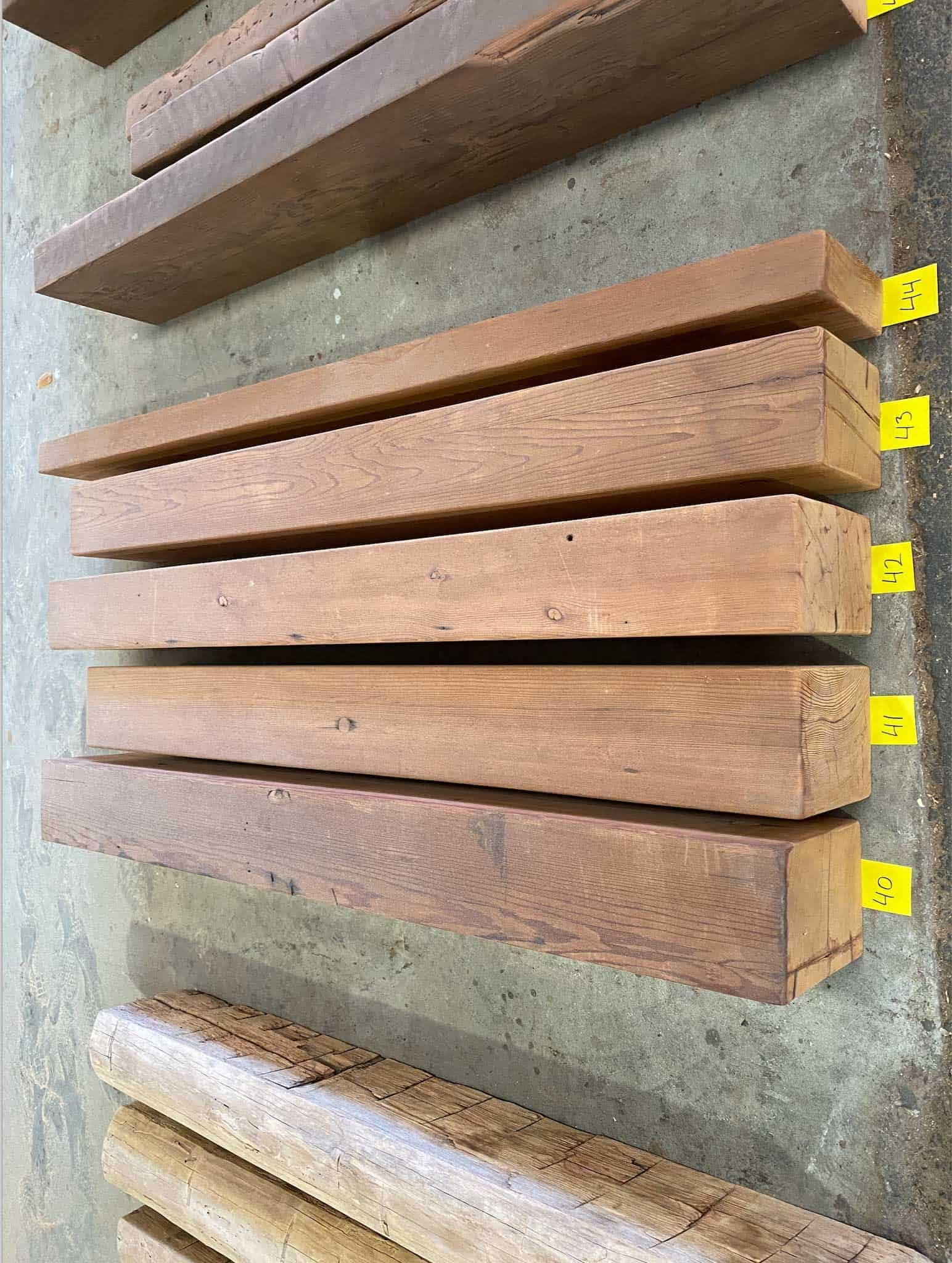 Surfaced Redwood Mantels 1 e1588192507825 - Vintage Timberware