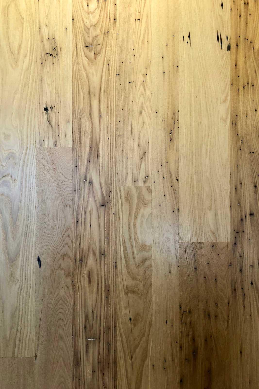Surfaced chestnut flooring - Reclaimed Chestnut