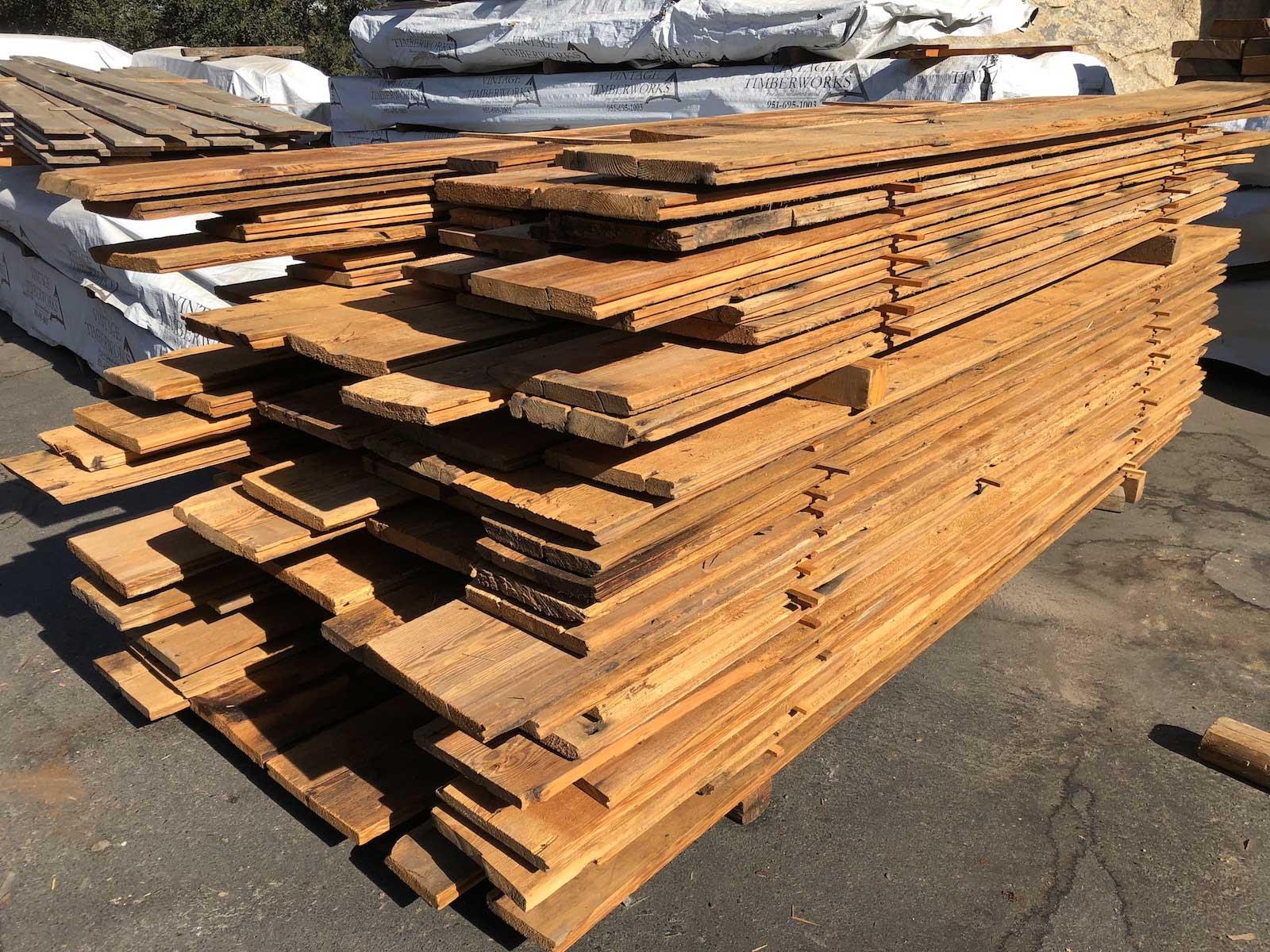 Mixed Reclaimed Wood Siding Vintage Timberworks