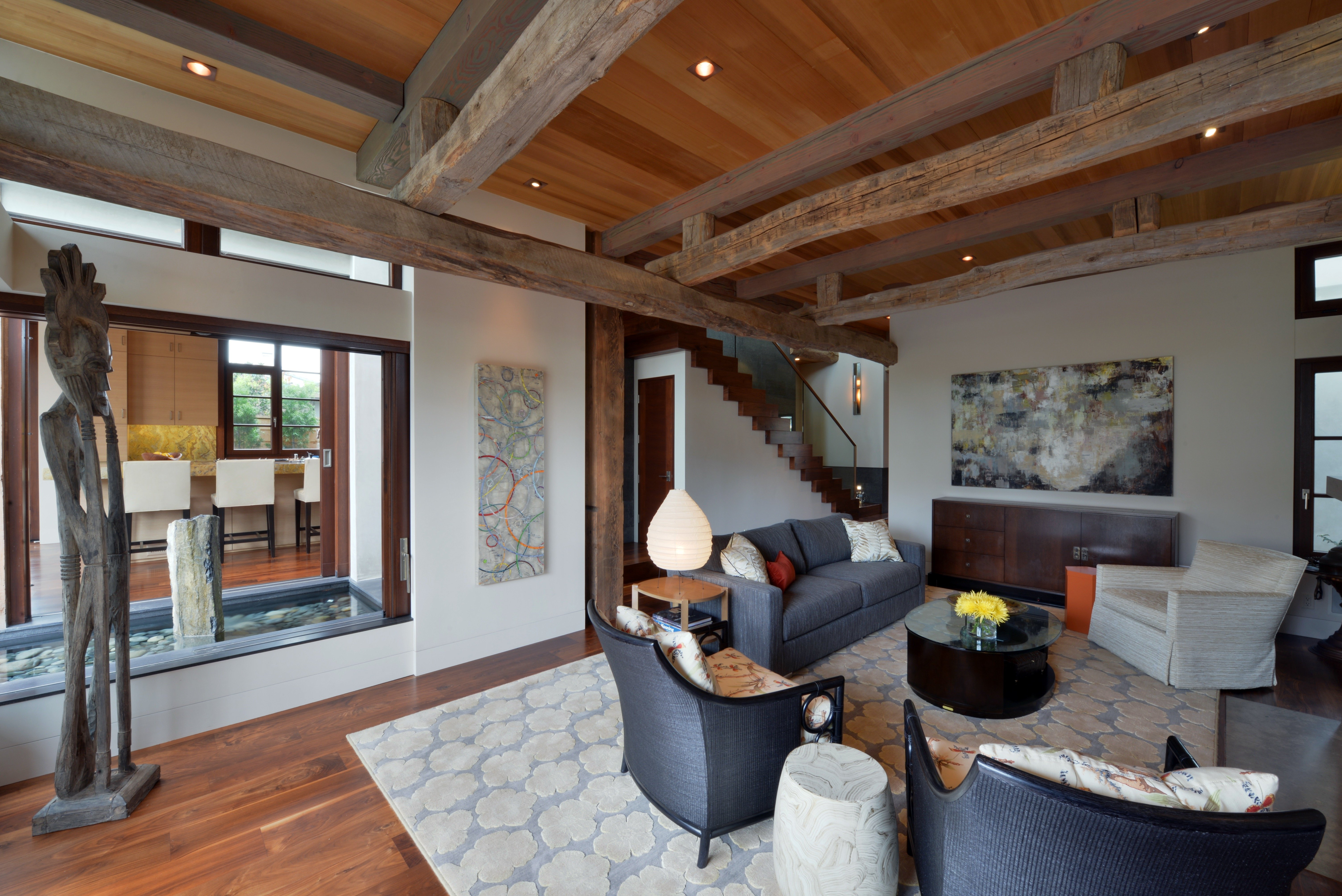 Reclaimed Solid Beams