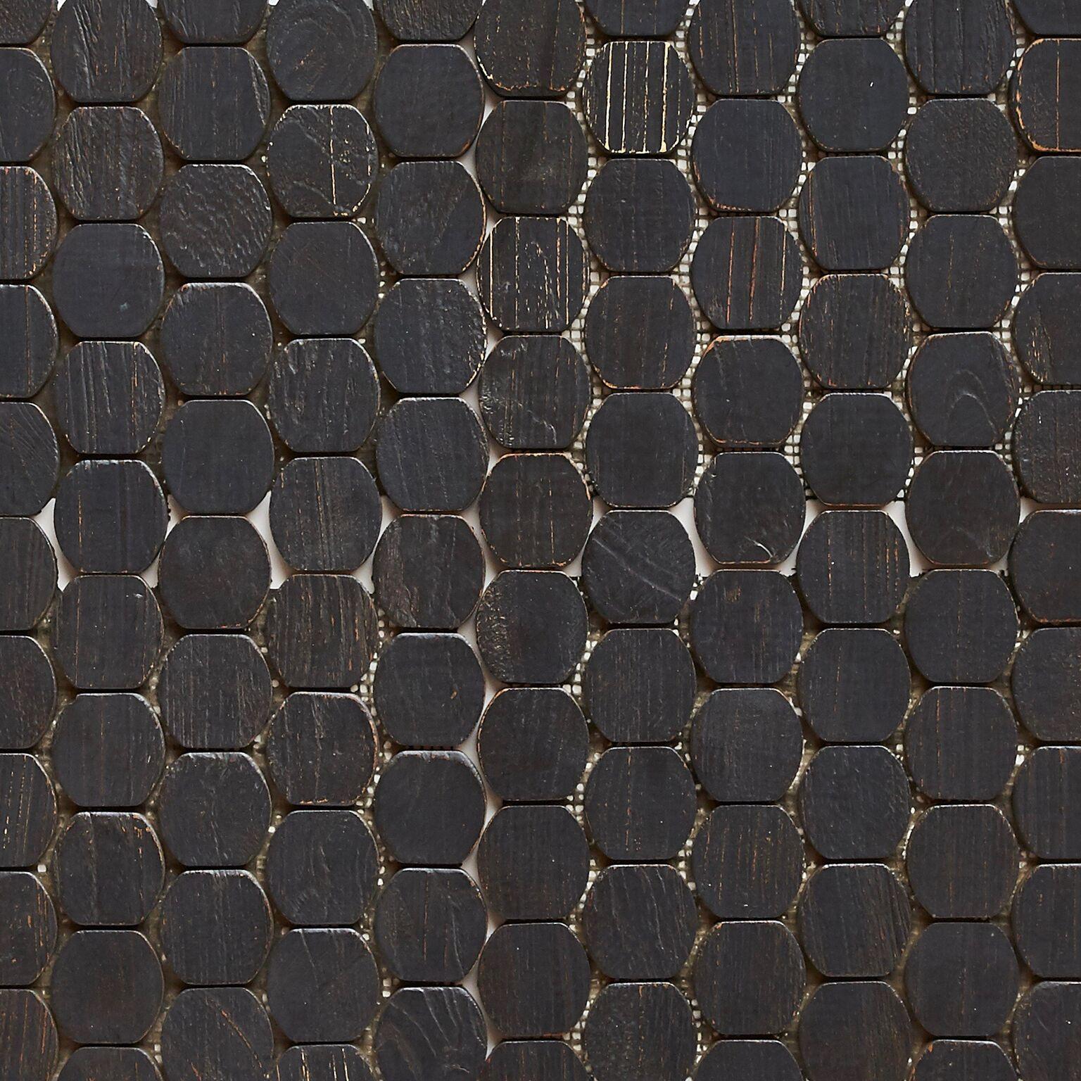black matte finish 5 - Teak Tile - Cask
