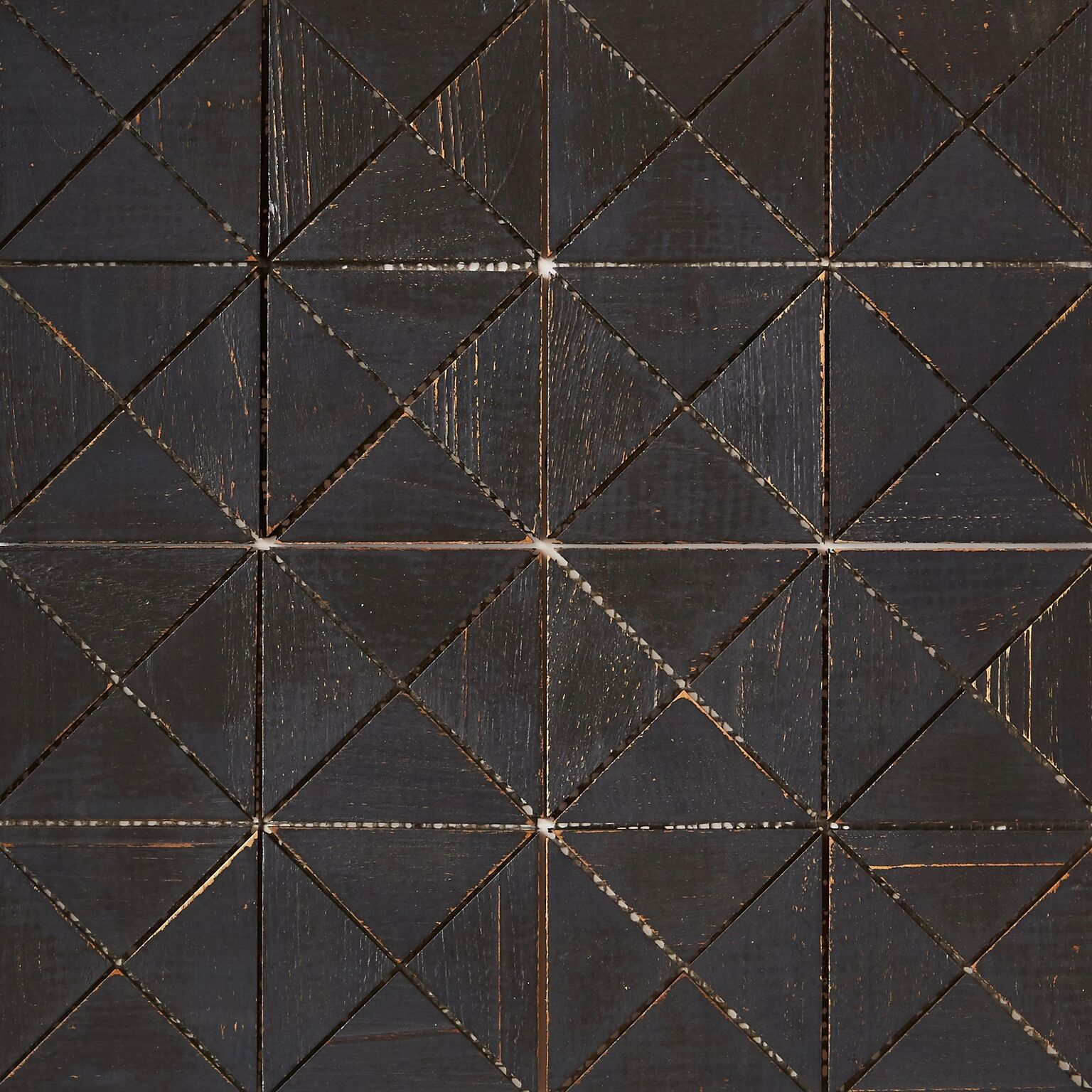 black matte finish 8 - Teak Tile - Crosscut