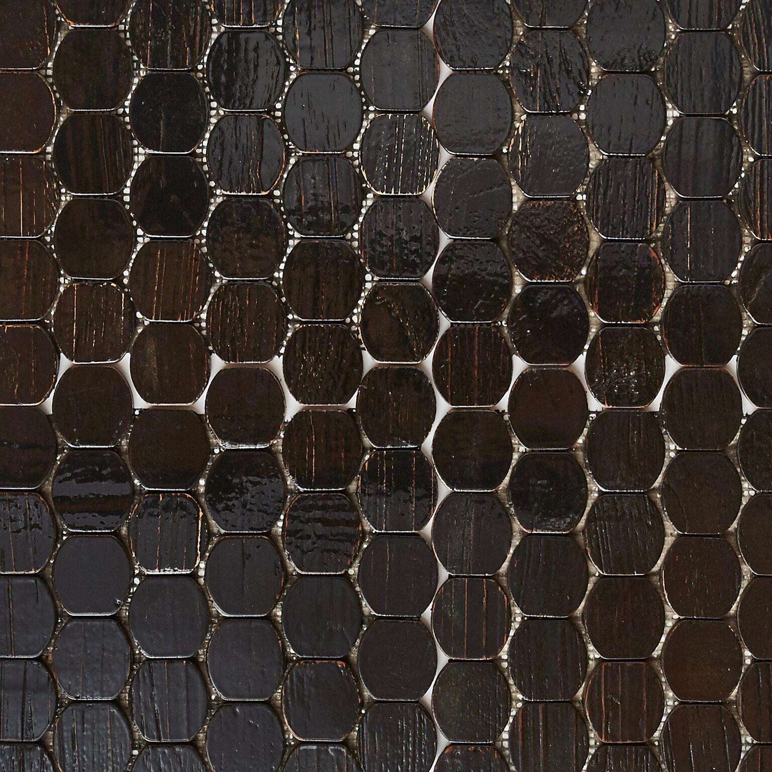 black resin finish 5 - Teak Tile - Cask