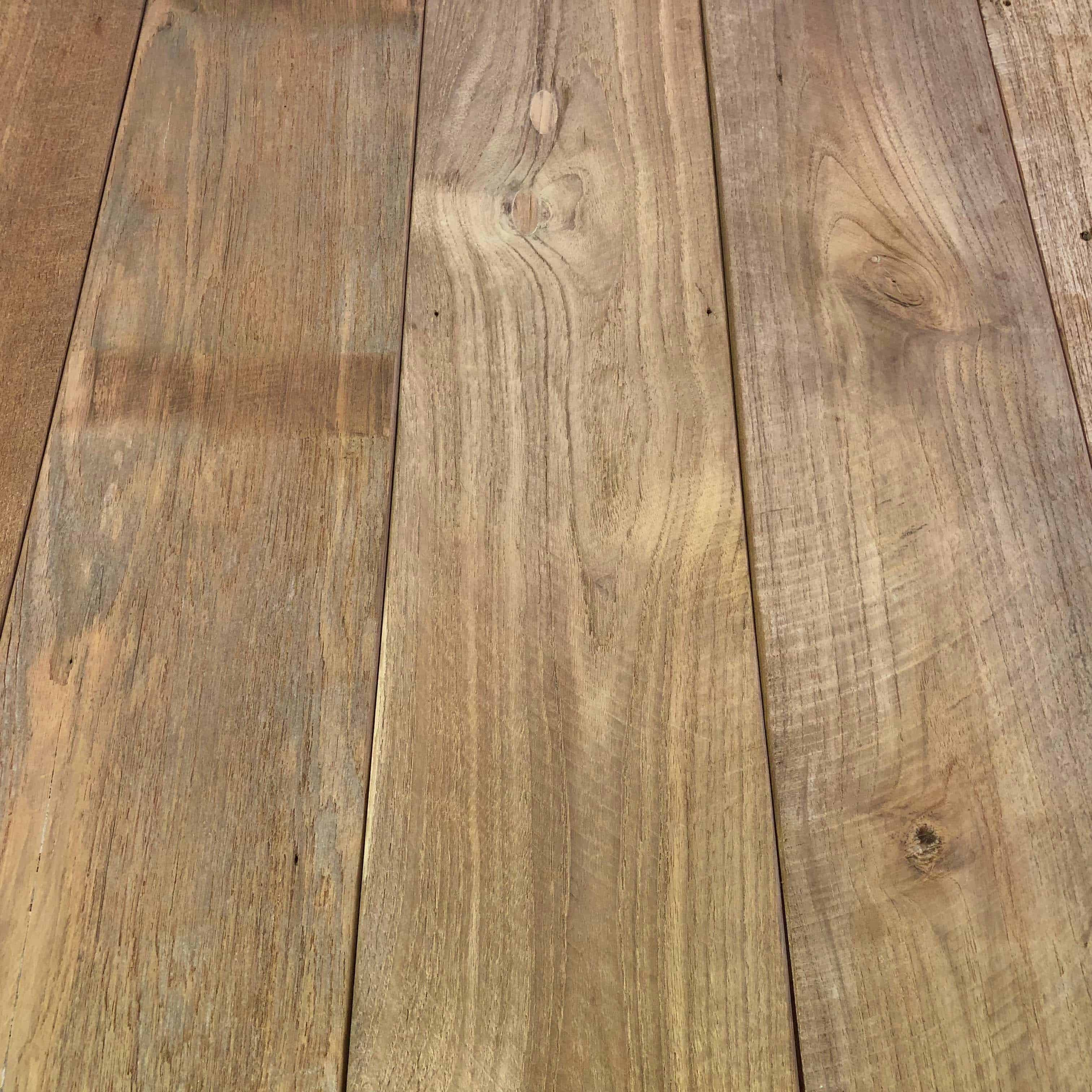 bright patina unfinished - Reclaimed Teak Flooring