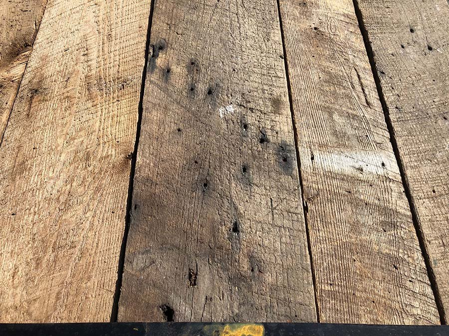 chestnut plank - Reclaimed Planking Wormy Chestnut