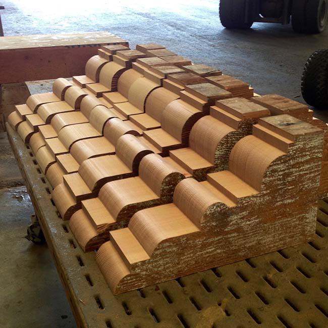 cut corbels mantels02 - Reclaimed Mantel Custom Corbel