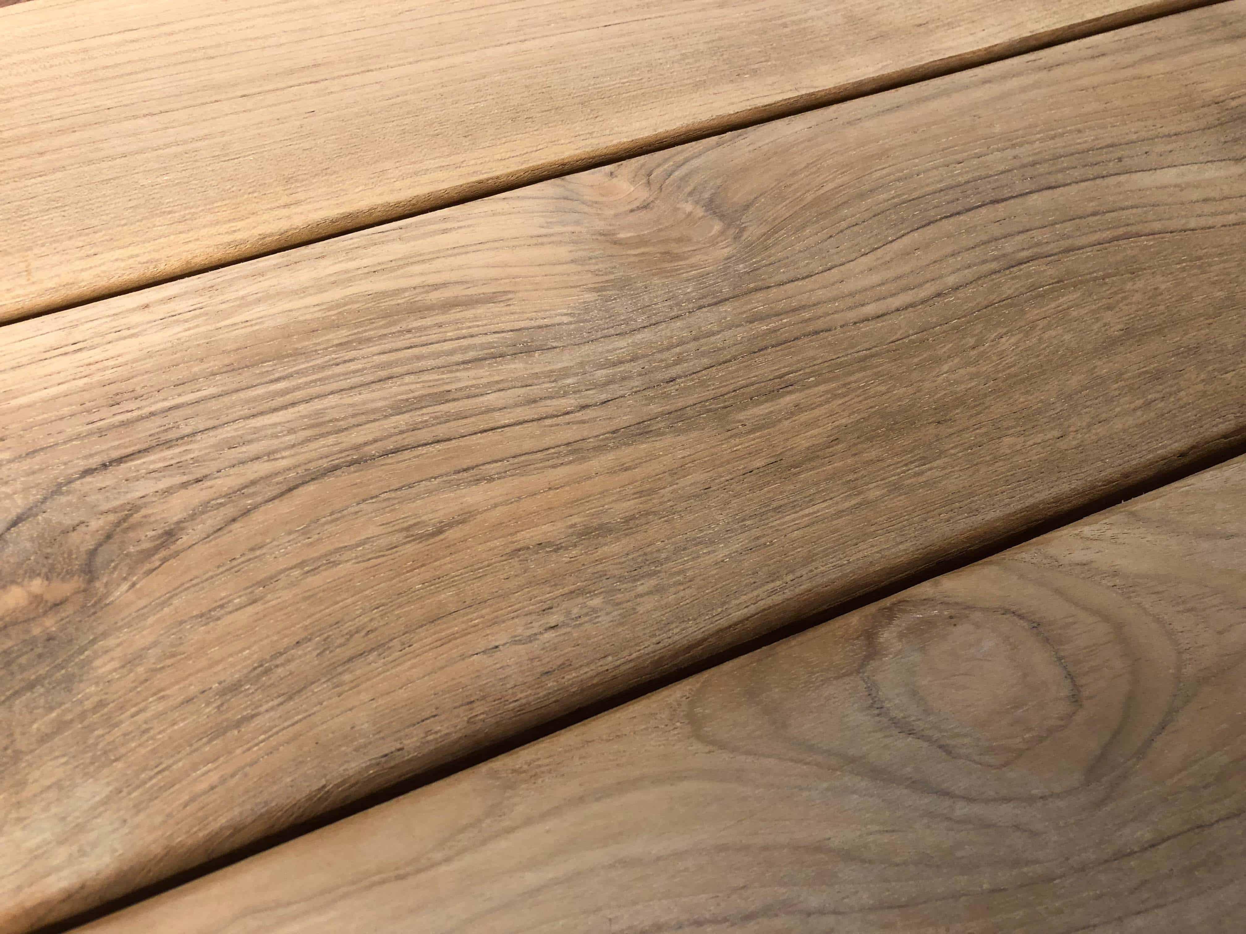 decking solid - Reclaimed Teak Decking