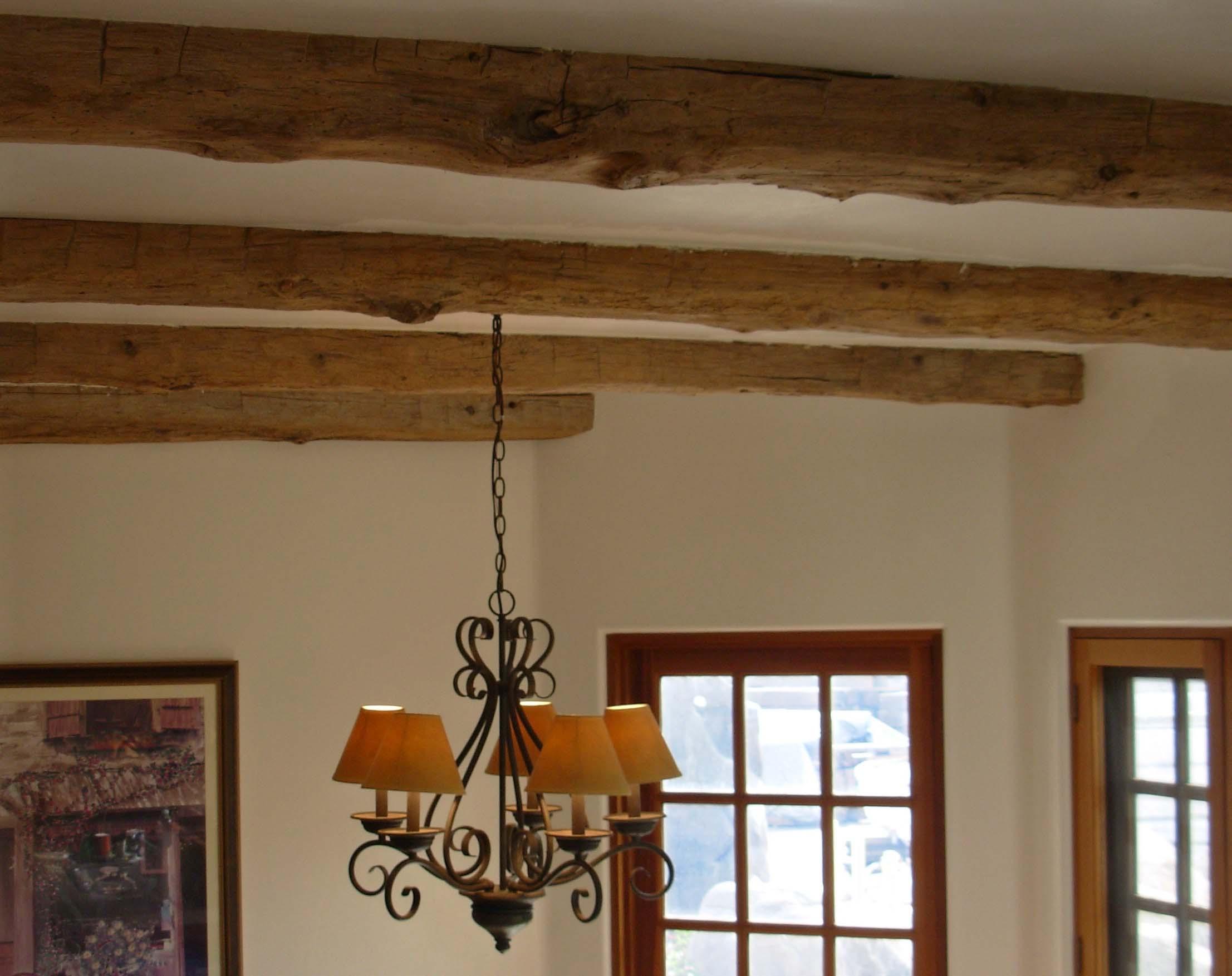 edge hardwood beams03 - Reclaimed Hardwood Barn Timbers