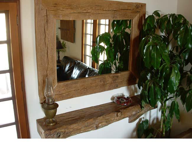 edge hardwood mantels03 - Reclaimed Mantel Barn