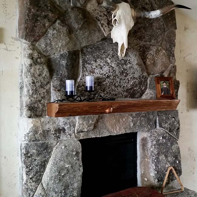 edge hardwood mantels06 - Reclaimed Mantel Barn