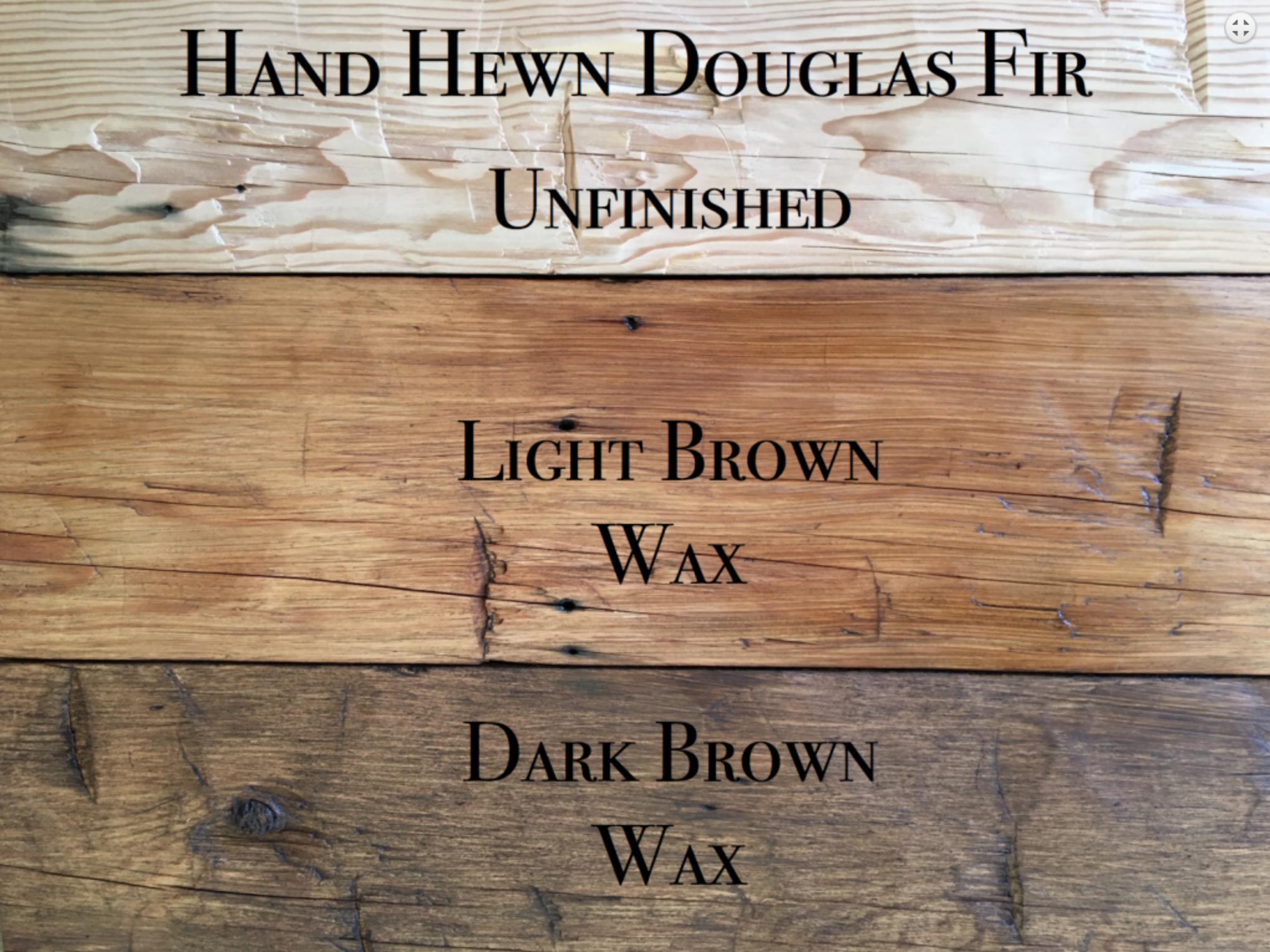 hewn douglas mantels03 - Vintage Reclaimed Douglas Fir