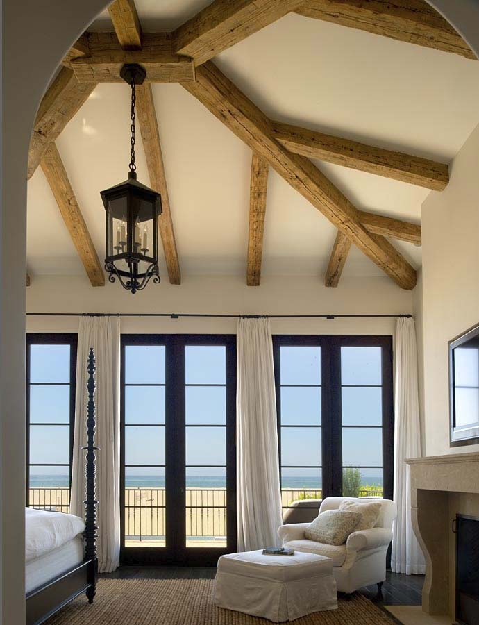 hewn hardwood beams - Reclaimed Hardwood Barn Timbers