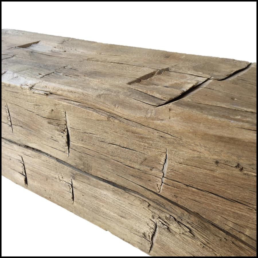 hewn hardwood mantels - Reclaimed Mantel Barn