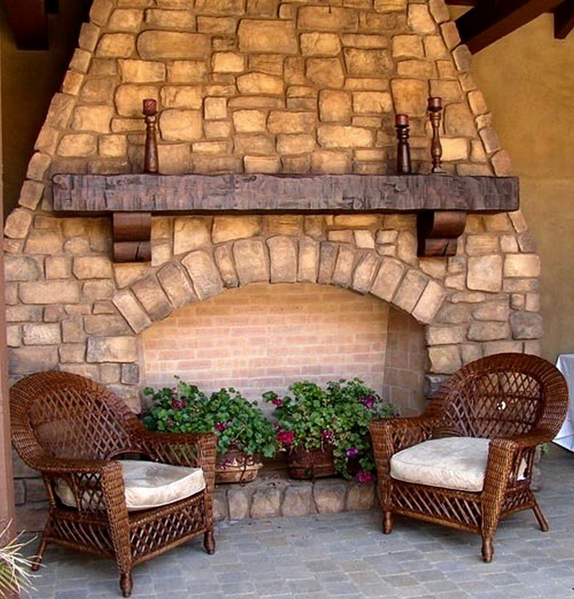 Rustic Mantels and Corbels