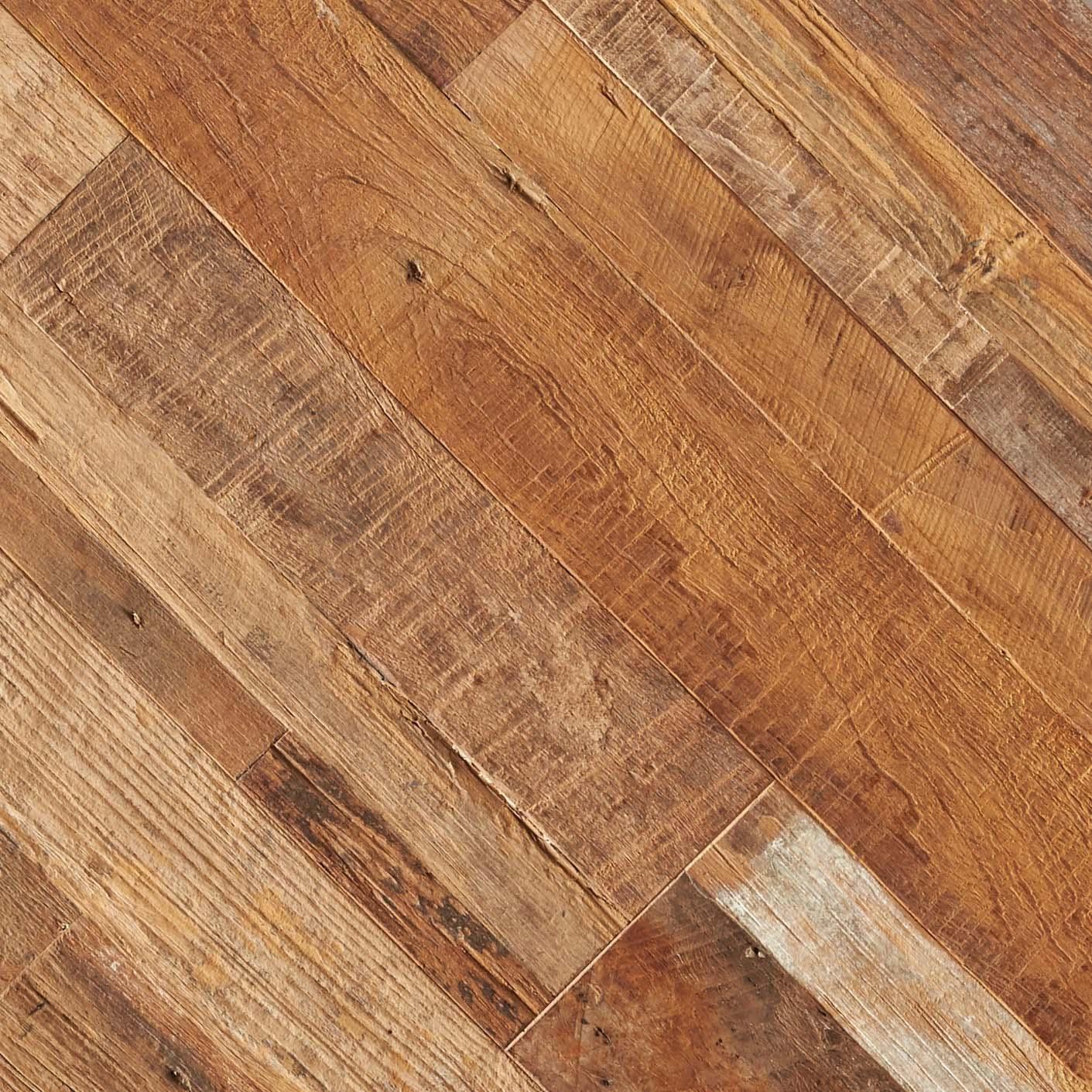 multistrip patina detail - Reclaimed Teak Flooring