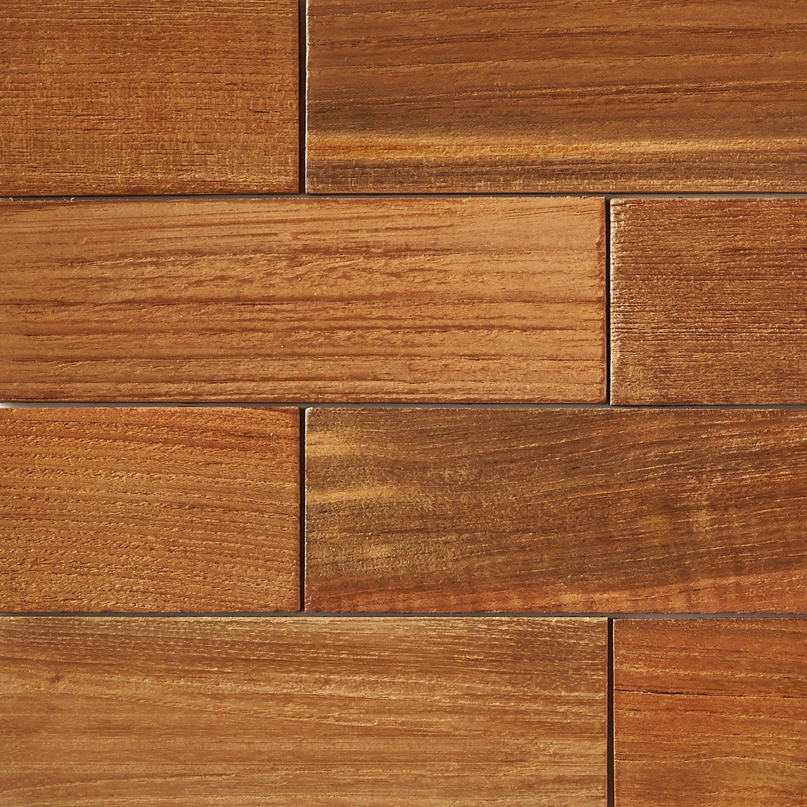 natural matte finish 11 - Teak Tile - Subway