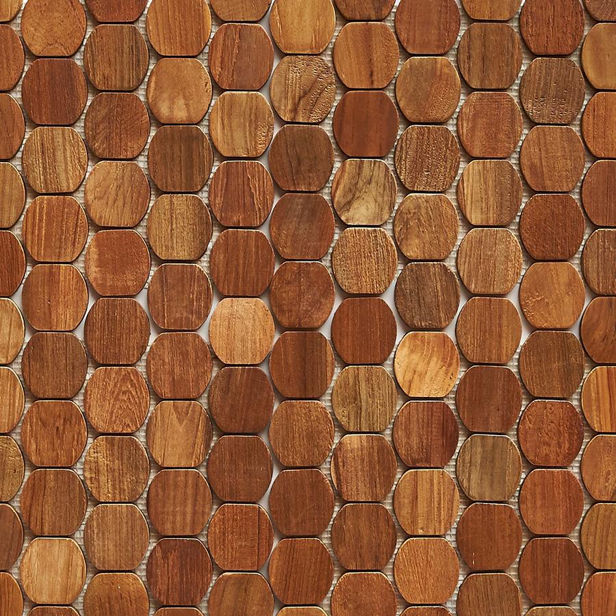 natural matte finish 5 - Teak Tile - Cask