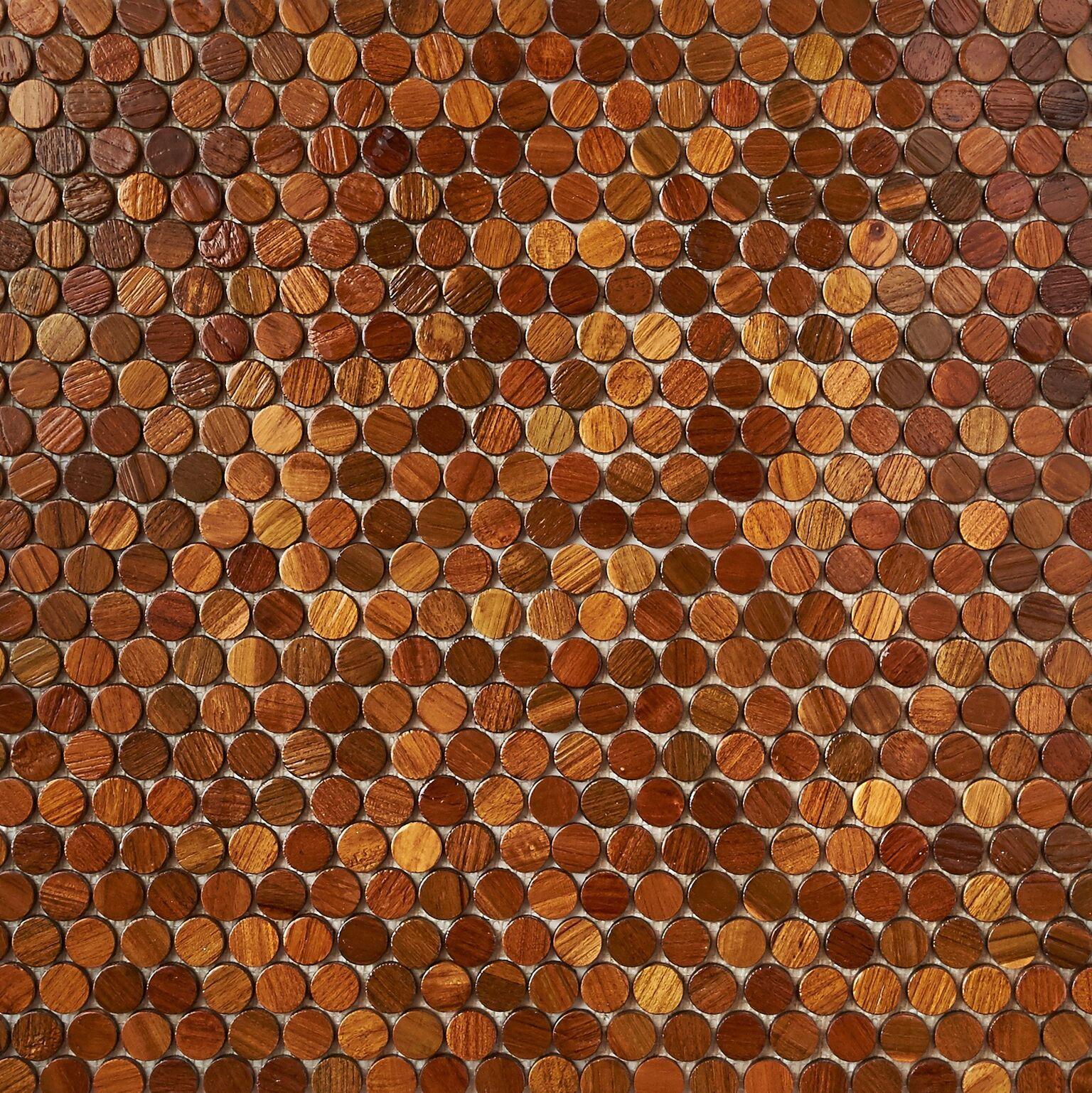 natural resin finish 3 - Teak Tile - Bead