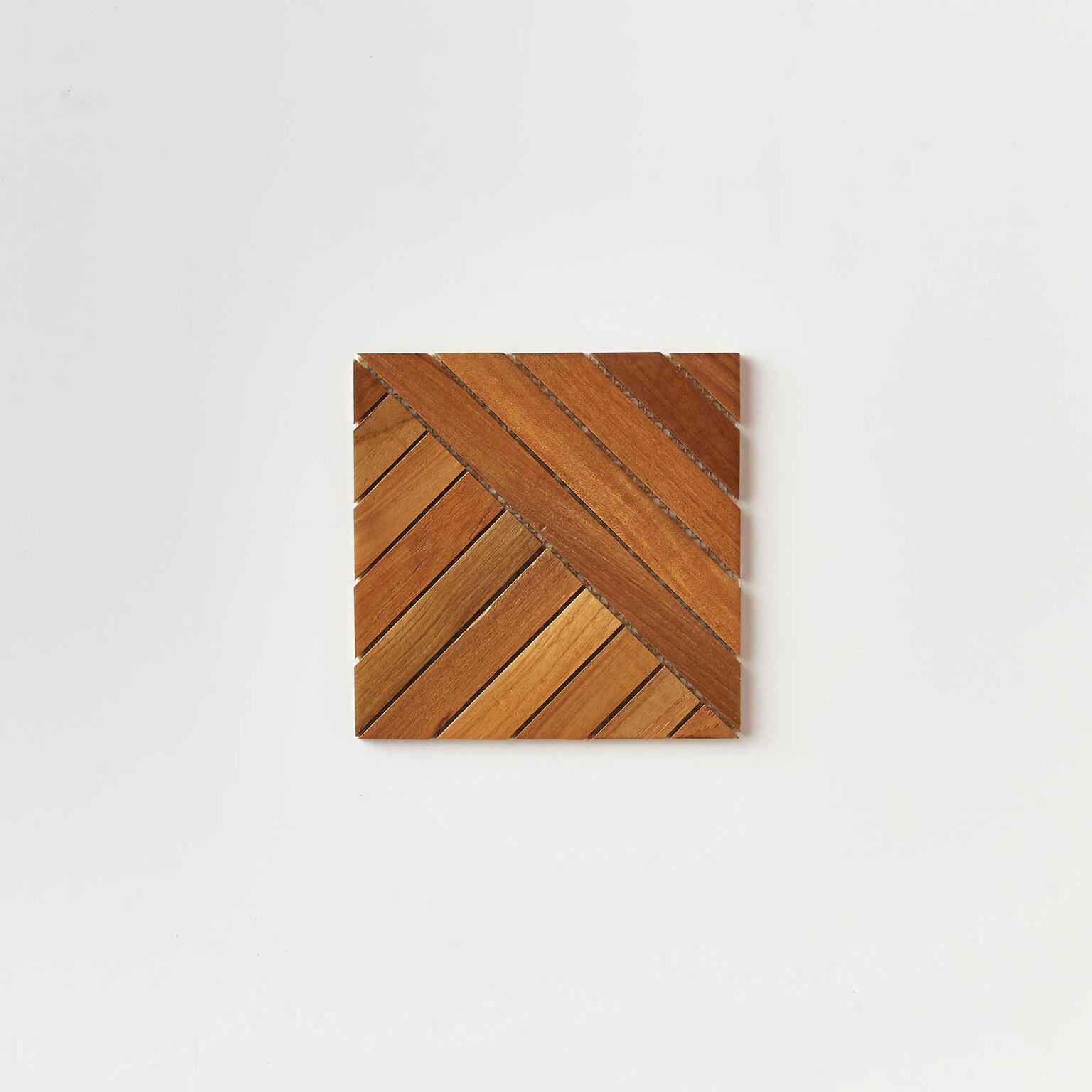 natural single tile 4 - Teak Tile - Align
