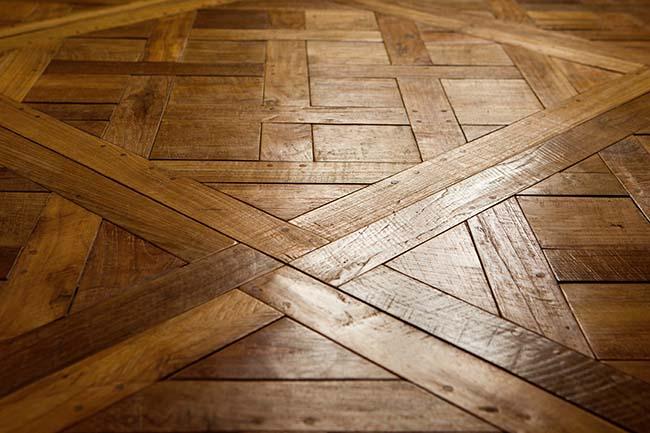 parquet flooring 1 - Reclaimed Custom Parquet Flooring