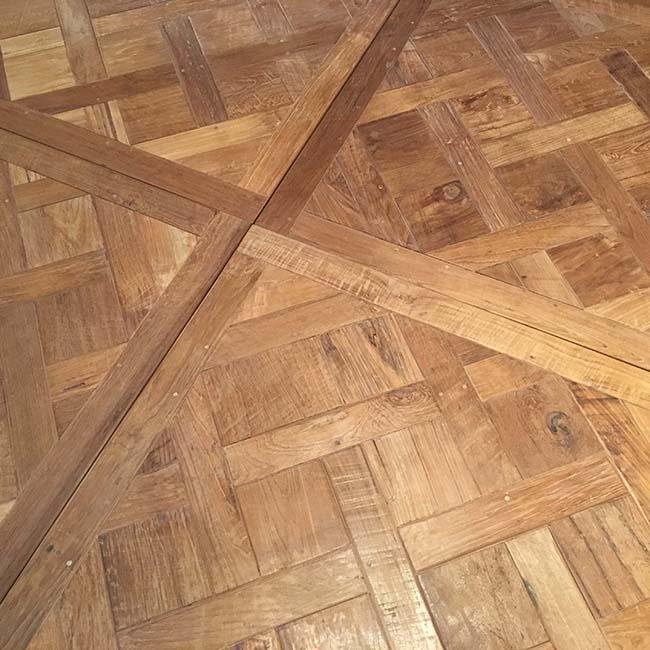 parquet flooring02 - Reclaimed Custom Parquet Flooring