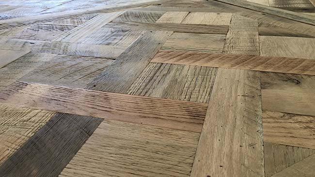 parquet flooring04 - Reclaimed Custom Parquet Flooring