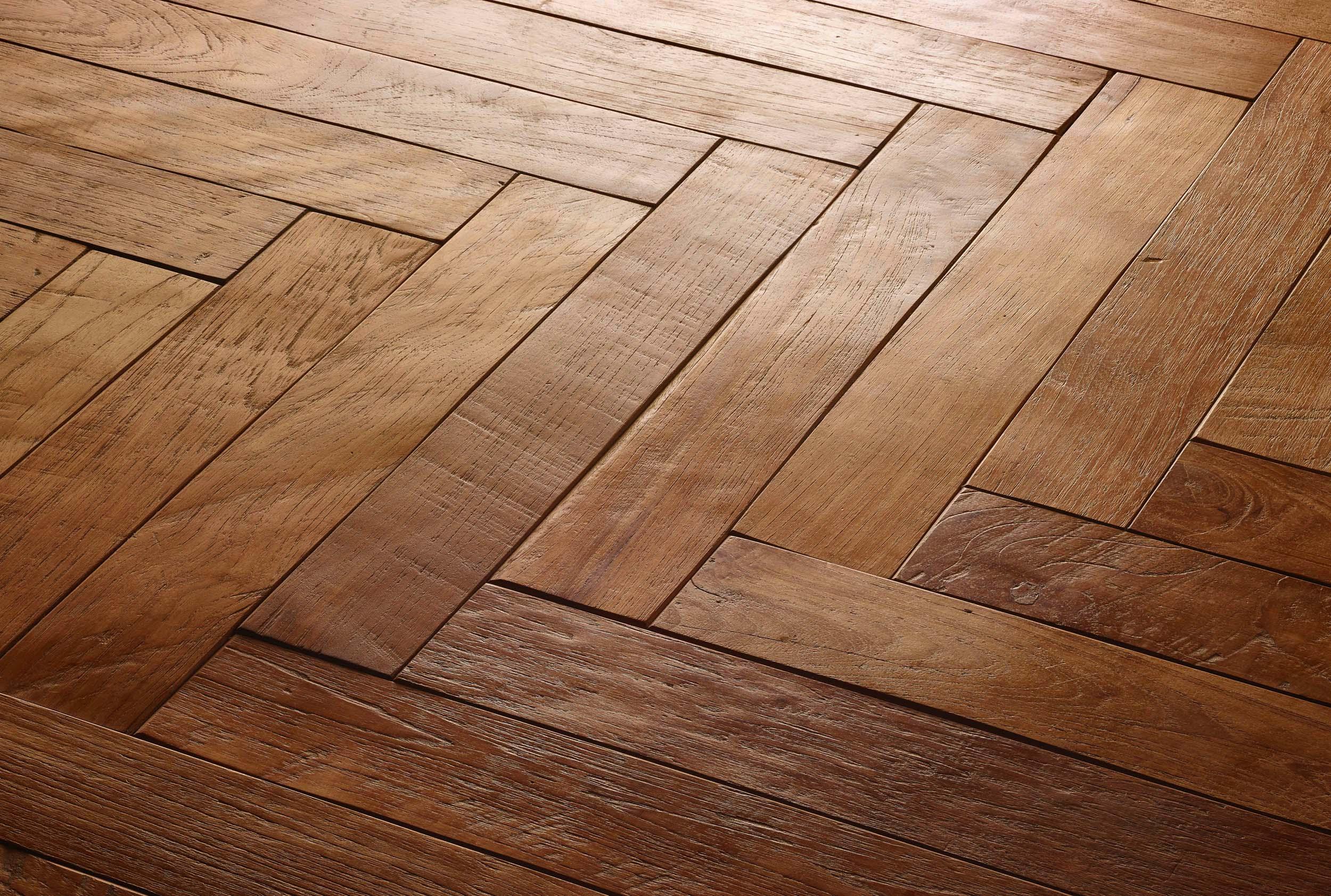 parquet herringbone - Reclaimed Teak Flooring
